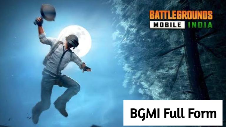 BGMI Full Form